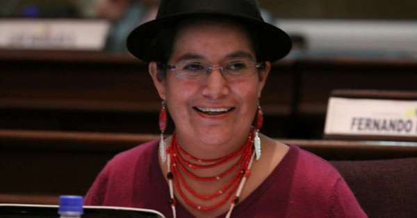 Indígena ecuatoriona aspira presidir comisión de la ONU