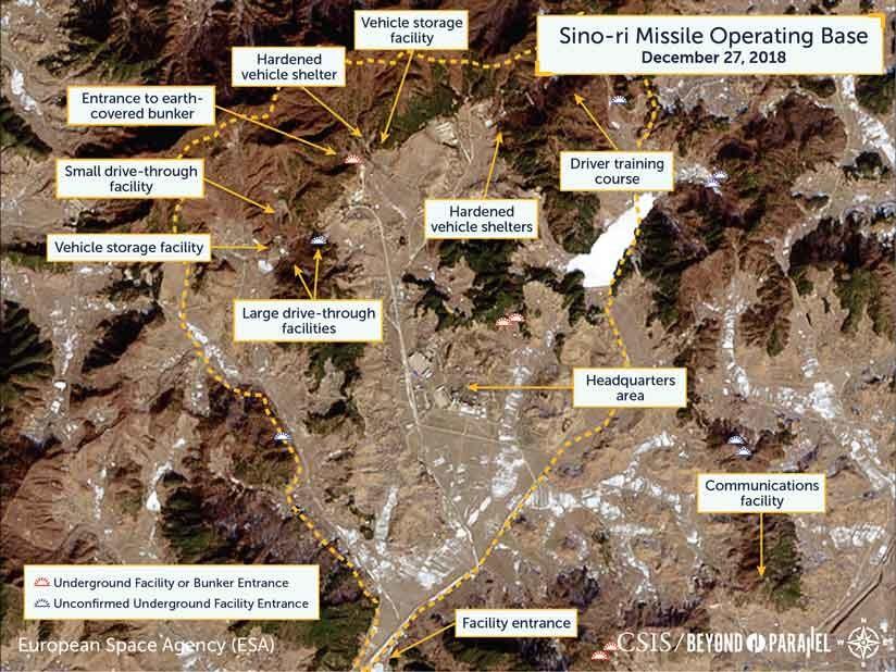 Descubren base de misiles no declarada en Corea del Norte