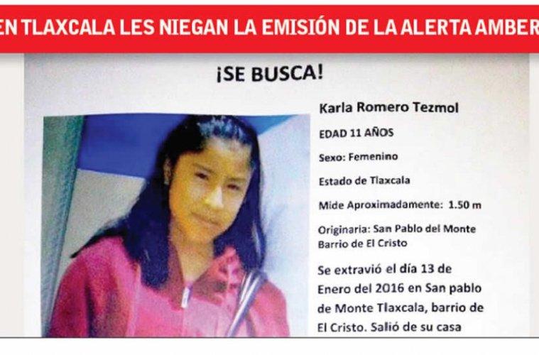 México: Negligencia de Procuraduría retrasó búsqueda de niña desaparecida