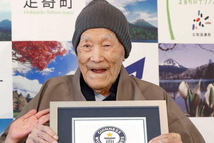 Murió Nonaka el hombre más anciano del mundo