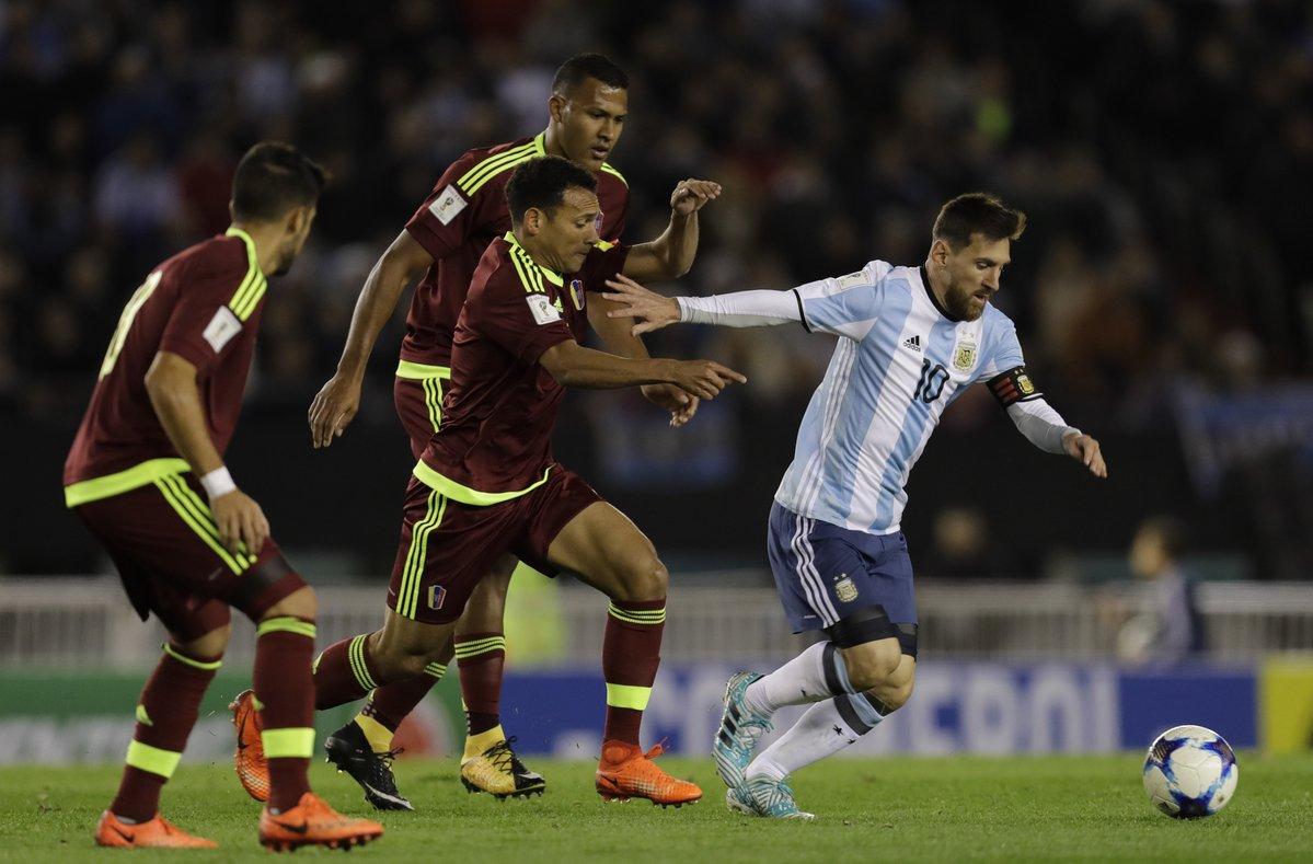 Venezuela y Argentina se medirán en marzo durante fecha FIFA