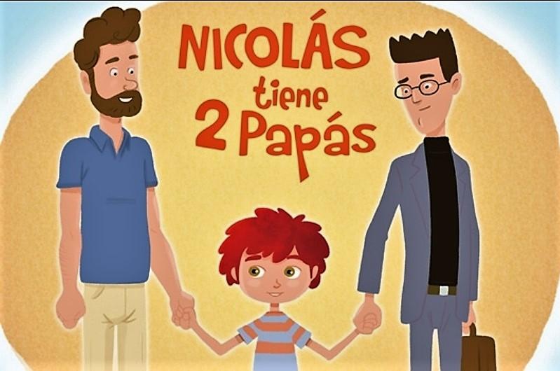 Pareja gay creadora de cuento 'Nicolás tiene 2 papás' fue impedida de hora para matrimonio en Registro Civil