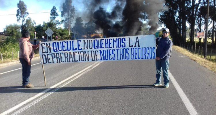 Pescadores artesanales de Queule niegan haber secuestrado a carabinero durante una protesta