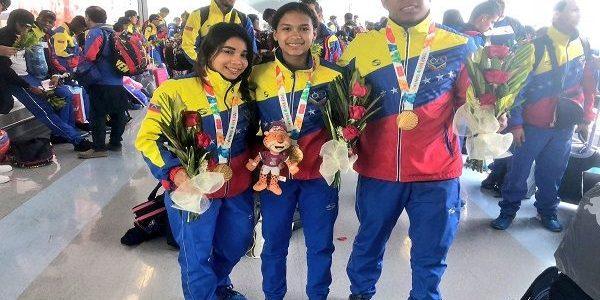 Venezuela medalla de oro