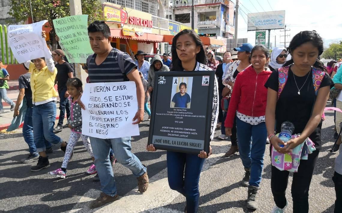 México: Campesinos y estudiantes exigen justicia por asesinato de líderes sociales