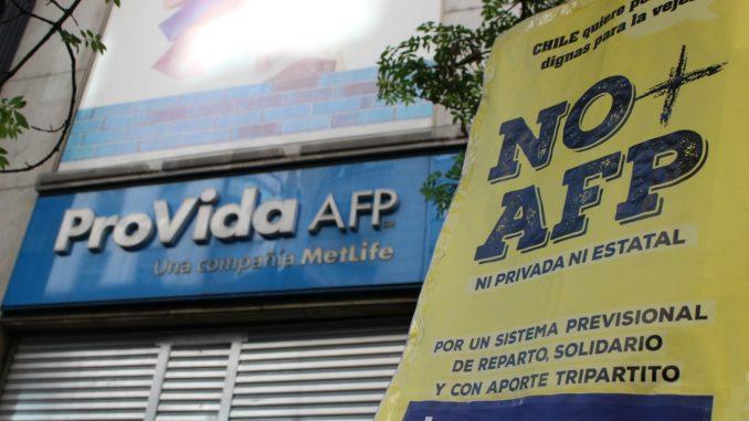 Coordinadora NO+AFP pide que nombres de agentes de Provida que pagaban por traspasos de cotizantes sean entregados a la Fiscalía