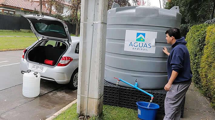 Aguas Andinas presentó una denuncia contra los responsables de la contaminación en el Río Mapocho