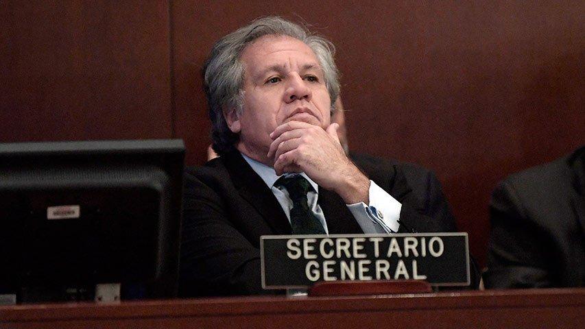 Almagro intenta continuar con el golpe de Estado en Nicaragua usando a la OEA