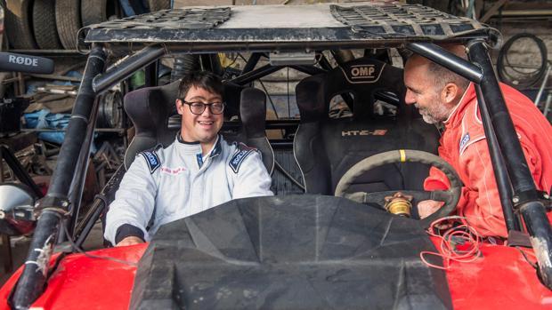 Un joven con síndrome de Down compite en el Rally Dakar 2019