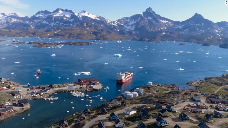 El hielo de Groenlandia se derrite más rápido por calentamiento global