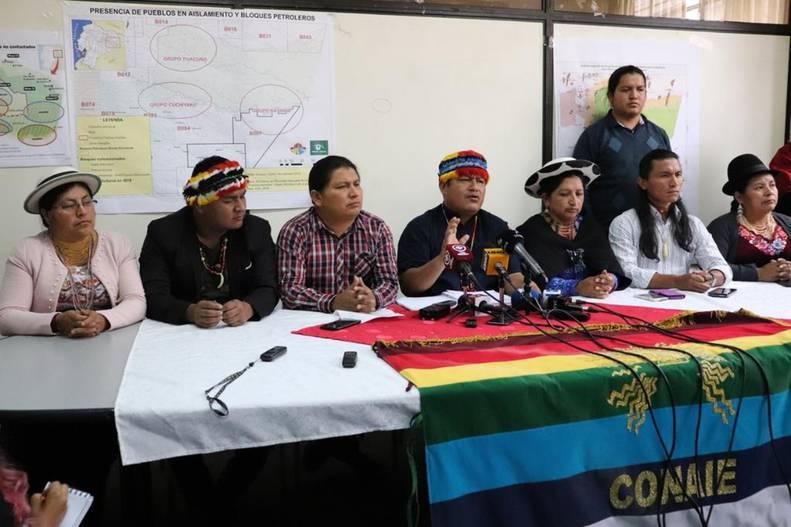 Confederación de indígenas convoca paro contra medidas neoliberales de Lenín Moreno