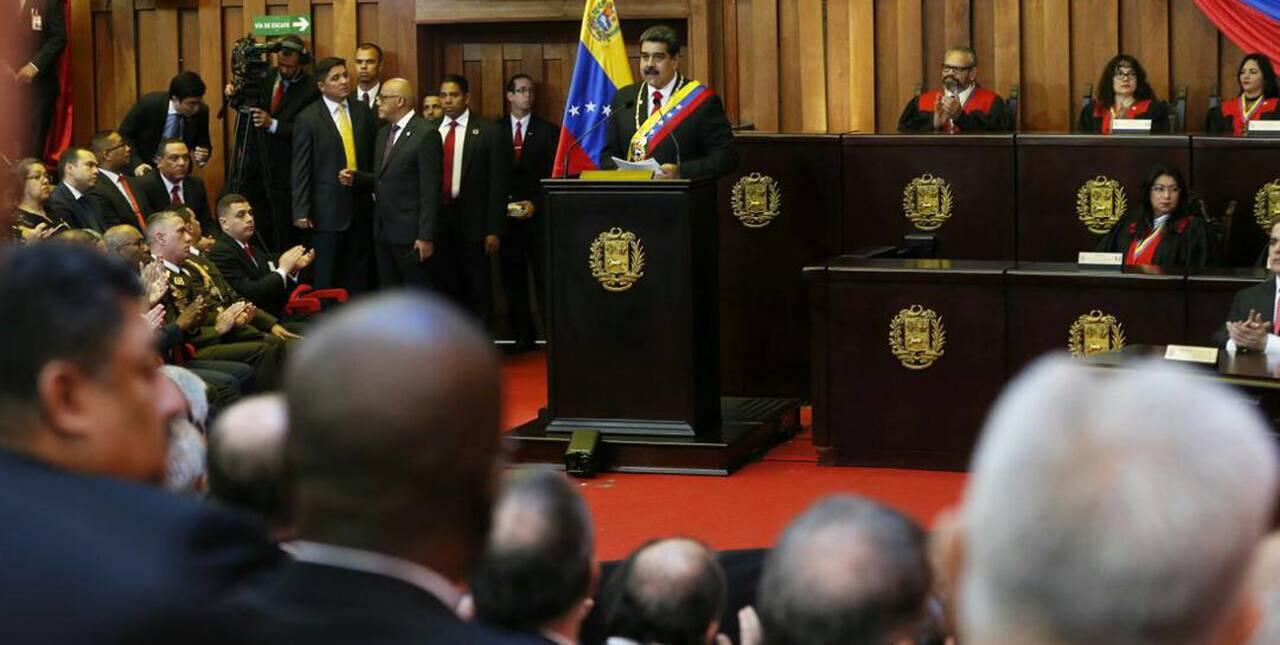 """Maduro: """"Comunicado del Cartel de Lima es un documento extravagante que no tiene comparación"""""""