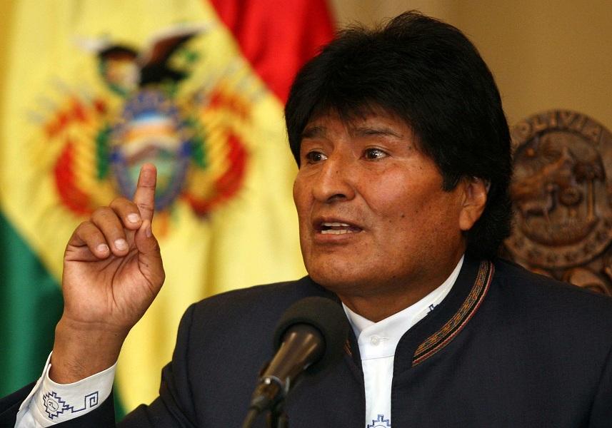 Evo Morales pide a EE. UU. deponer plan golpista contra Venezuela