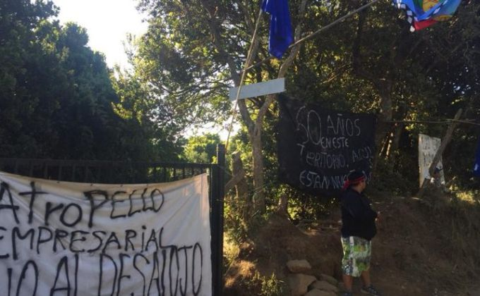 Denuncian ataque con disparos a familias amenazadas con desalojos en Hualpén