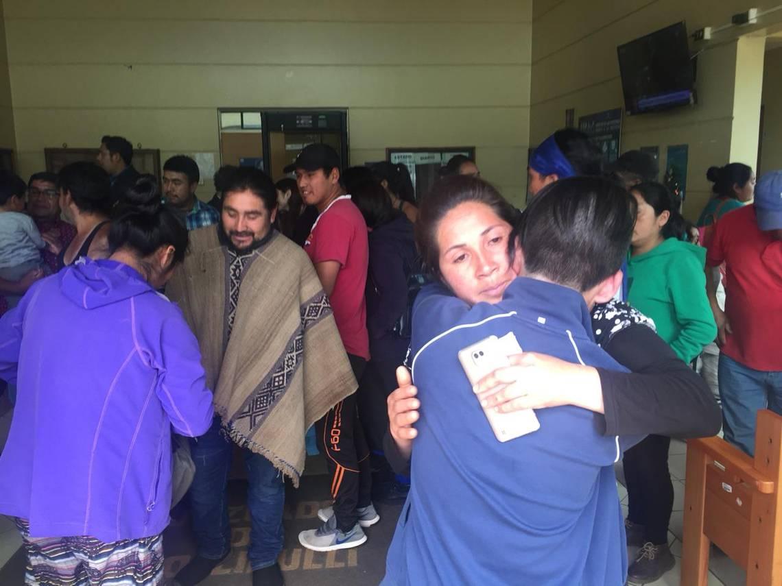 Madre de Brandon Hernández Huentecol denunció amenazas de Mayor de Carabineros