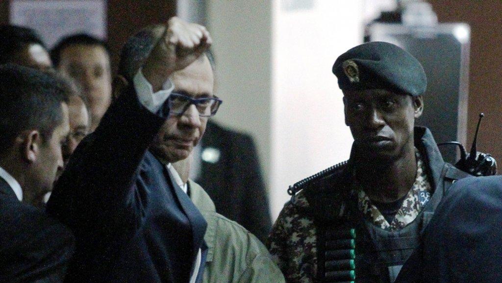 Jorge Glas sigue bajo el asedio de Lenín Moreno