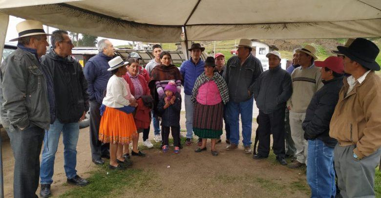(Video) Indígenas ecuatorianos buscan canal de diálogo con Lenín Moreno