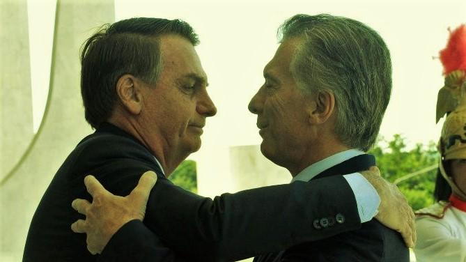 El repentino affaire Macri / Bolsonaro: Estilos opuestos y objetivos comunes