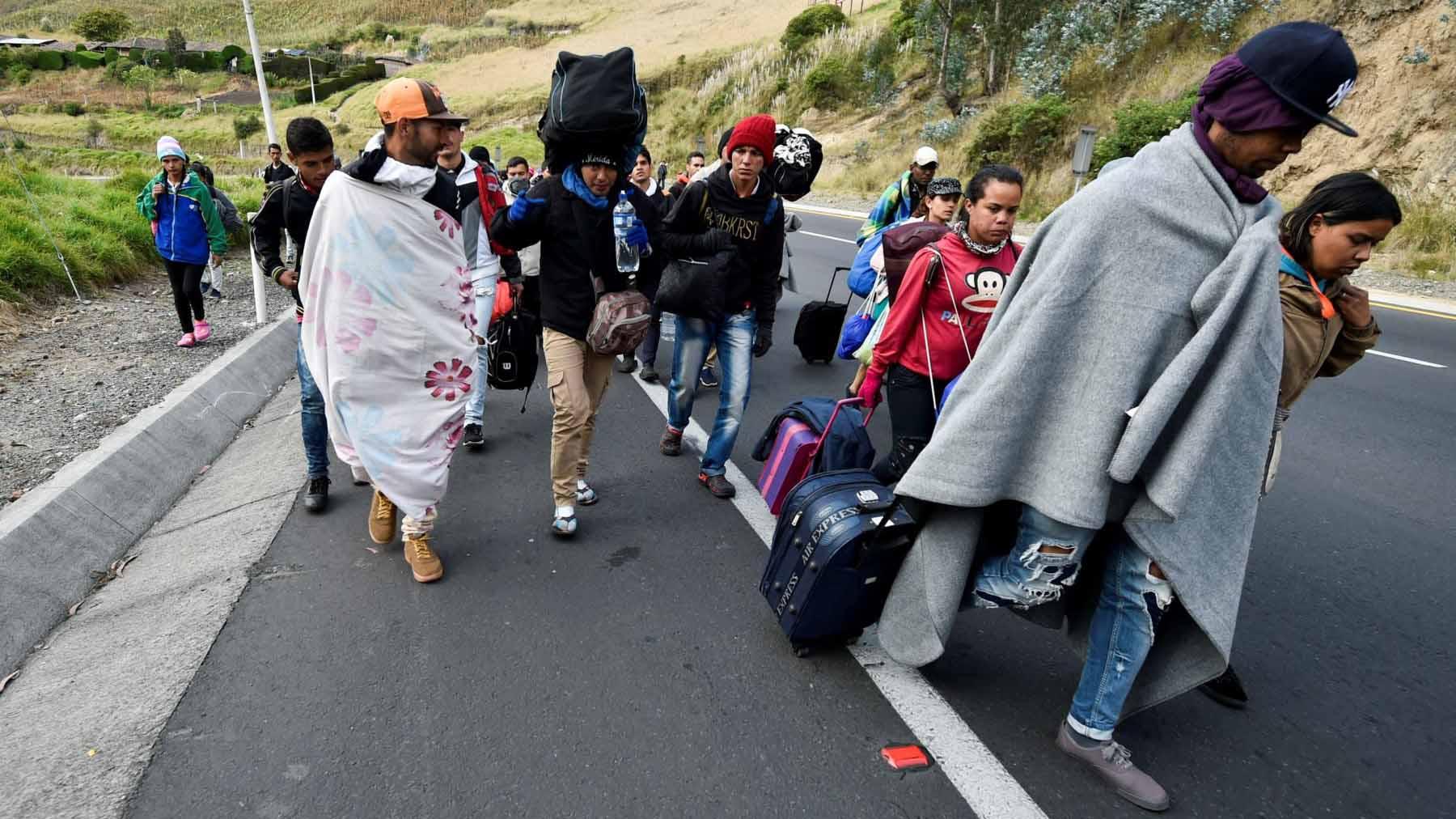 Venezuela exige al gobierno de Ecuador cese de incitación a la xenofobia