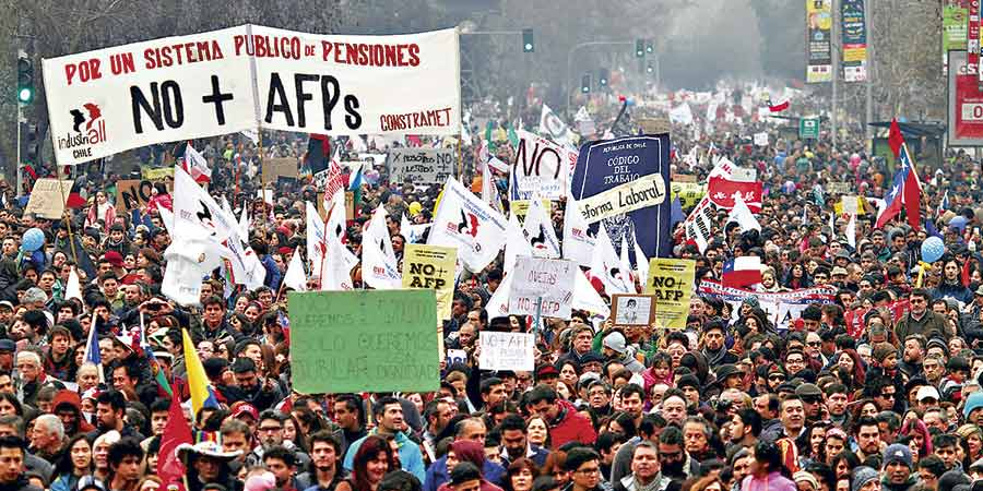 NO+AFP: Montos de las pensiones mostraron un importante deterioro en 2018