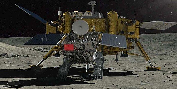 China anuncia éxito de aterrizaje de su sonda en la cara oculta de la Luna