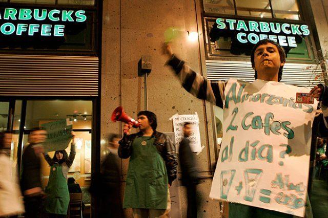 Sindicato de Starbucks acusa negligencia del gobierno por amenazas y agresiones a dirigentes sociales