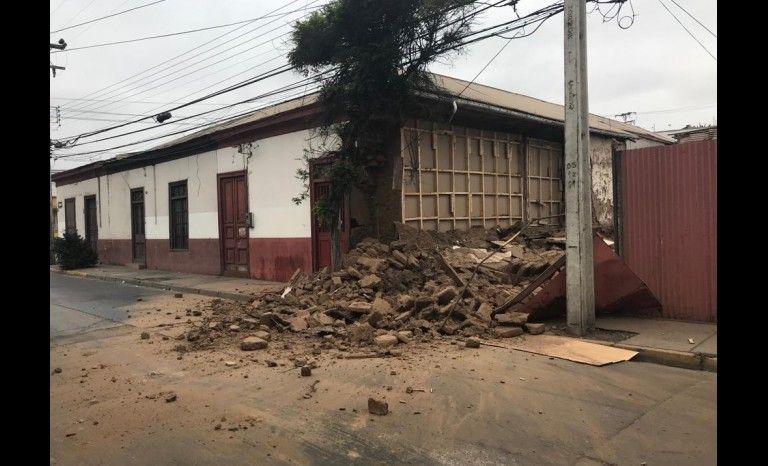 Alcalde de La Serena pide «estado de emergencia» tras fuerte sismo registrado en la zona