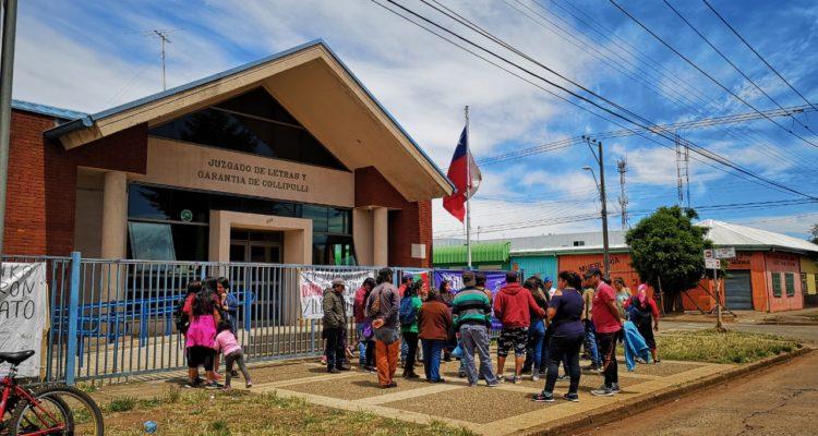 Collipulli: Comuneros mapuche niegan haber causado daños durante la toma del municipio