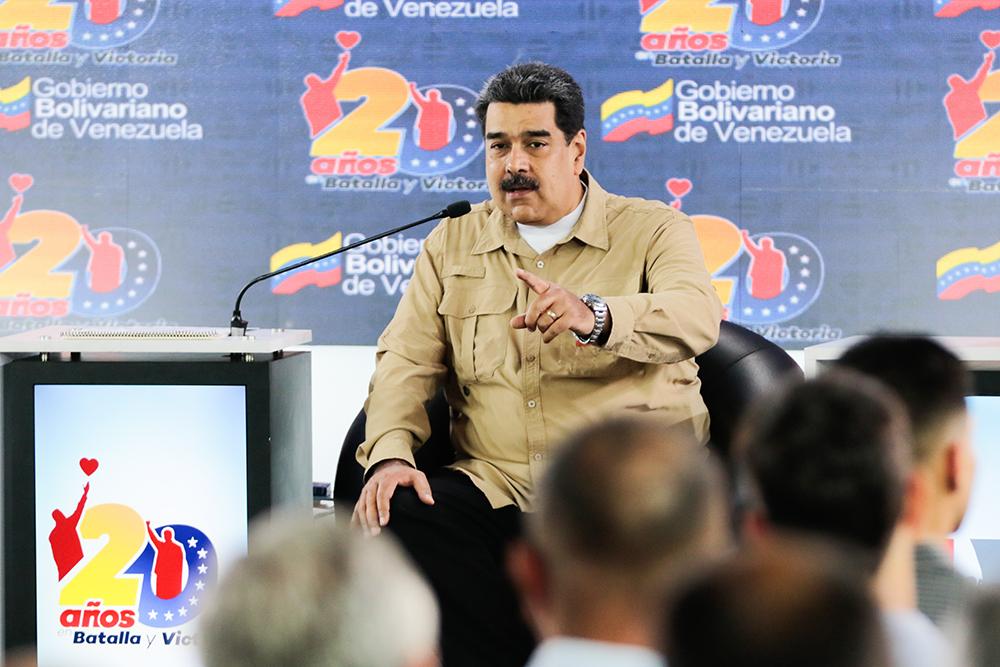 Maduro pide crear un movimiento mundial de solidaridad por la soberanía de Venezuela