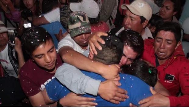 (Video) Liberan a 3 indígenas defensores del agua encarcelados hace 11 años en México
