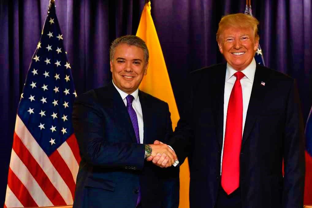 Iván Duque se reunirá con Trump para coordinar próximas acciones contra Venezuela