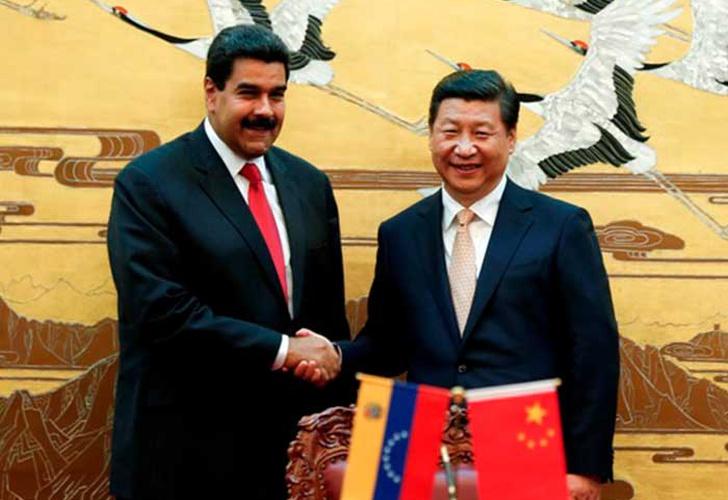 Presidentes de Venezuela y China