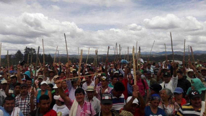 Campesinos del Cauca denuncian presuntos ataques de comunidades indígenas