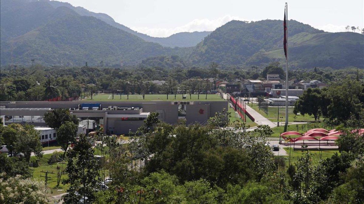 Cierra campo de entrenamiento del Flamengo