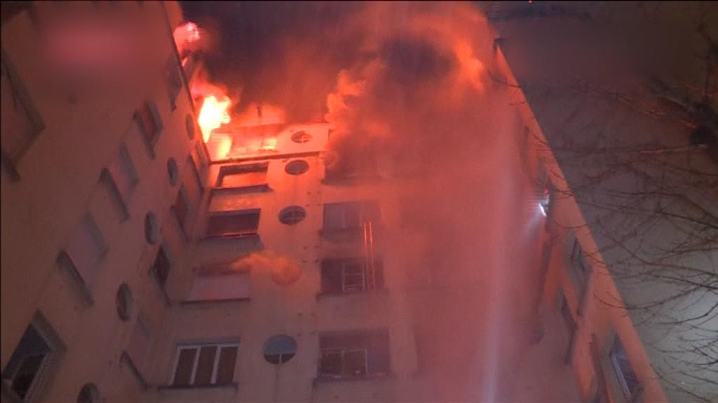 Ocho muertos por incendio en un edificio residencial de París