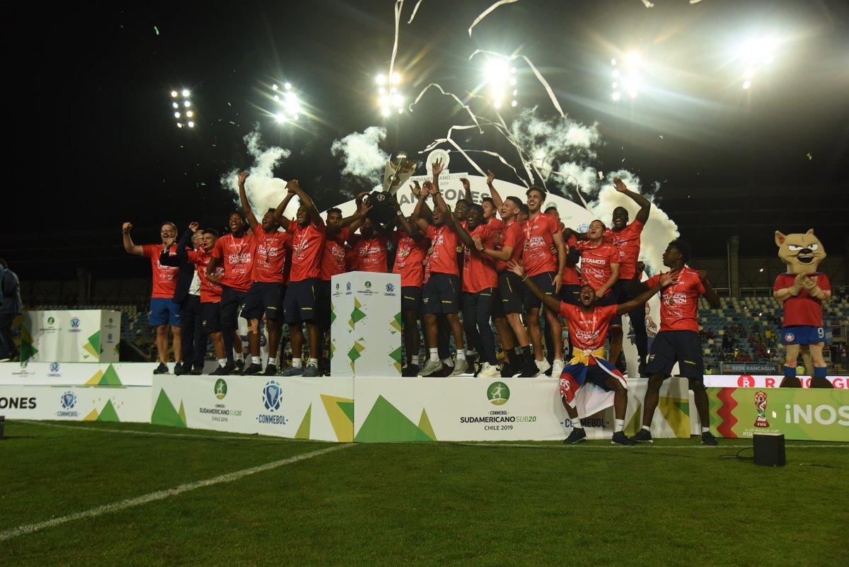 Ecuador campeón suramericano