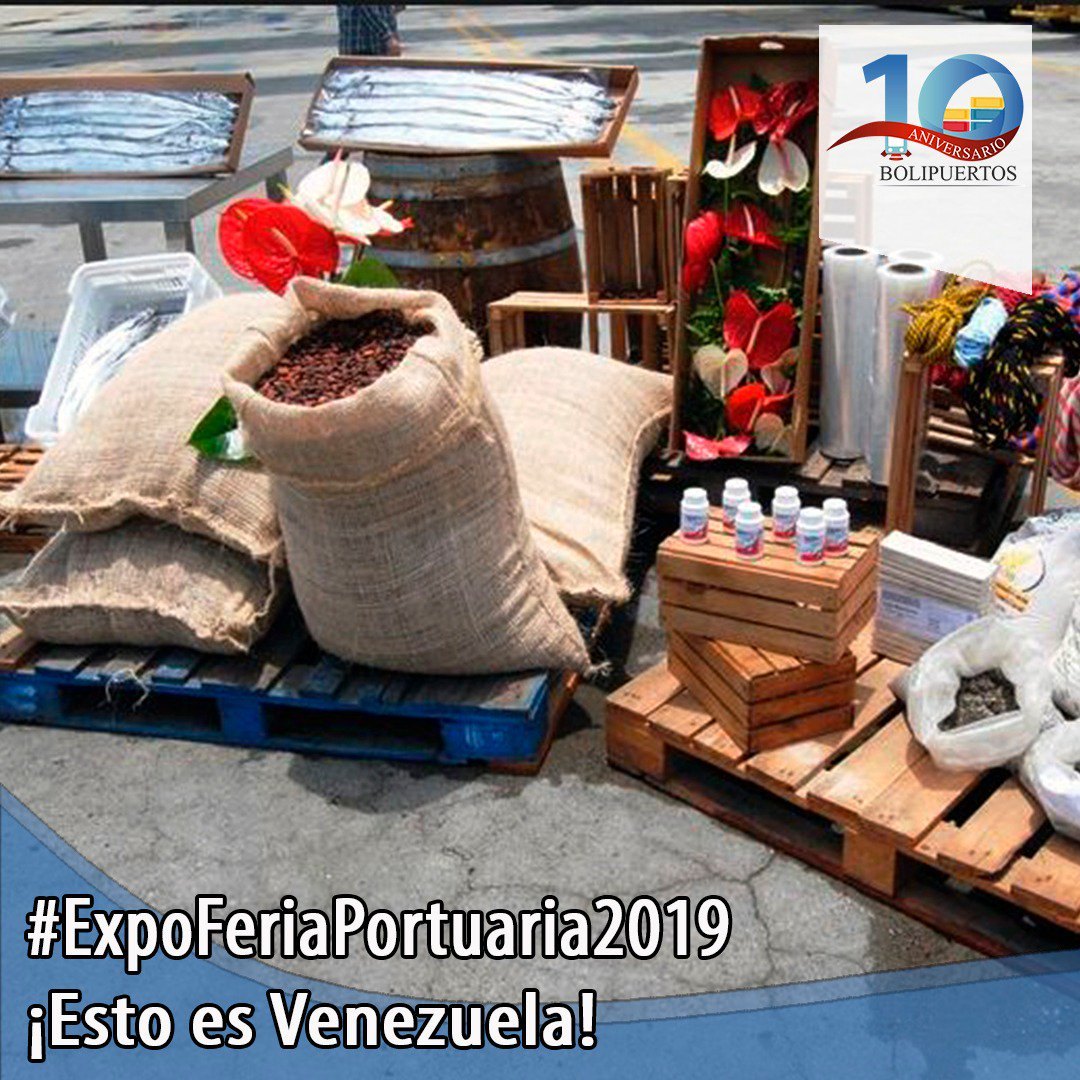 Venezuela realizará 1era Expoferia Internacional Portuaria La Guaira 2019