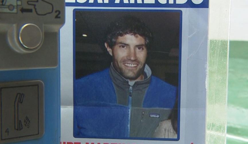 La molestia de la familia del desaparecido guía Kurt Martinson con Canal 13