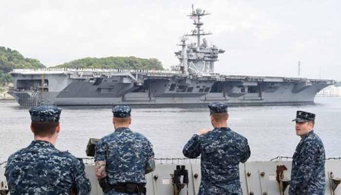 Jefe de la Marina de EE.UU. llama a lanzar ofensiva frente a maniobras navales de China y Rusia