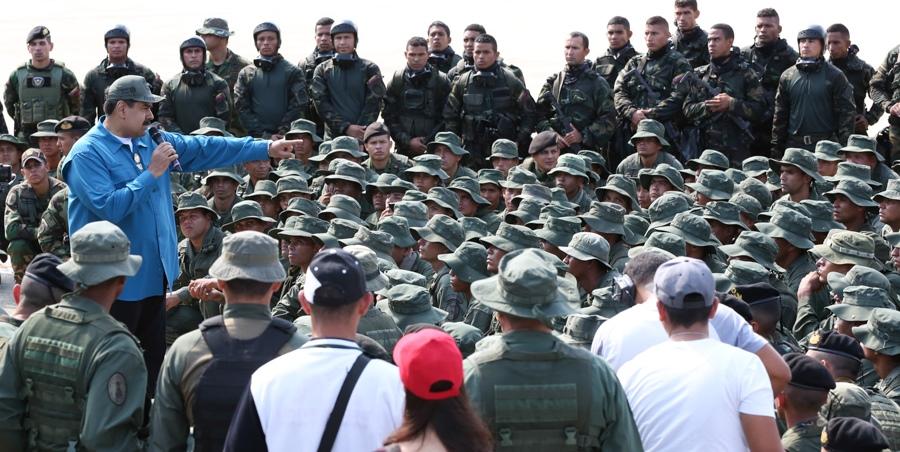 Maduro ordena despliegue y adecuación permanente de la Fuerza Armada