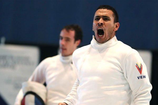 Venezolano Rubén Limardo entre los tres primeros del ranking de Esgrima