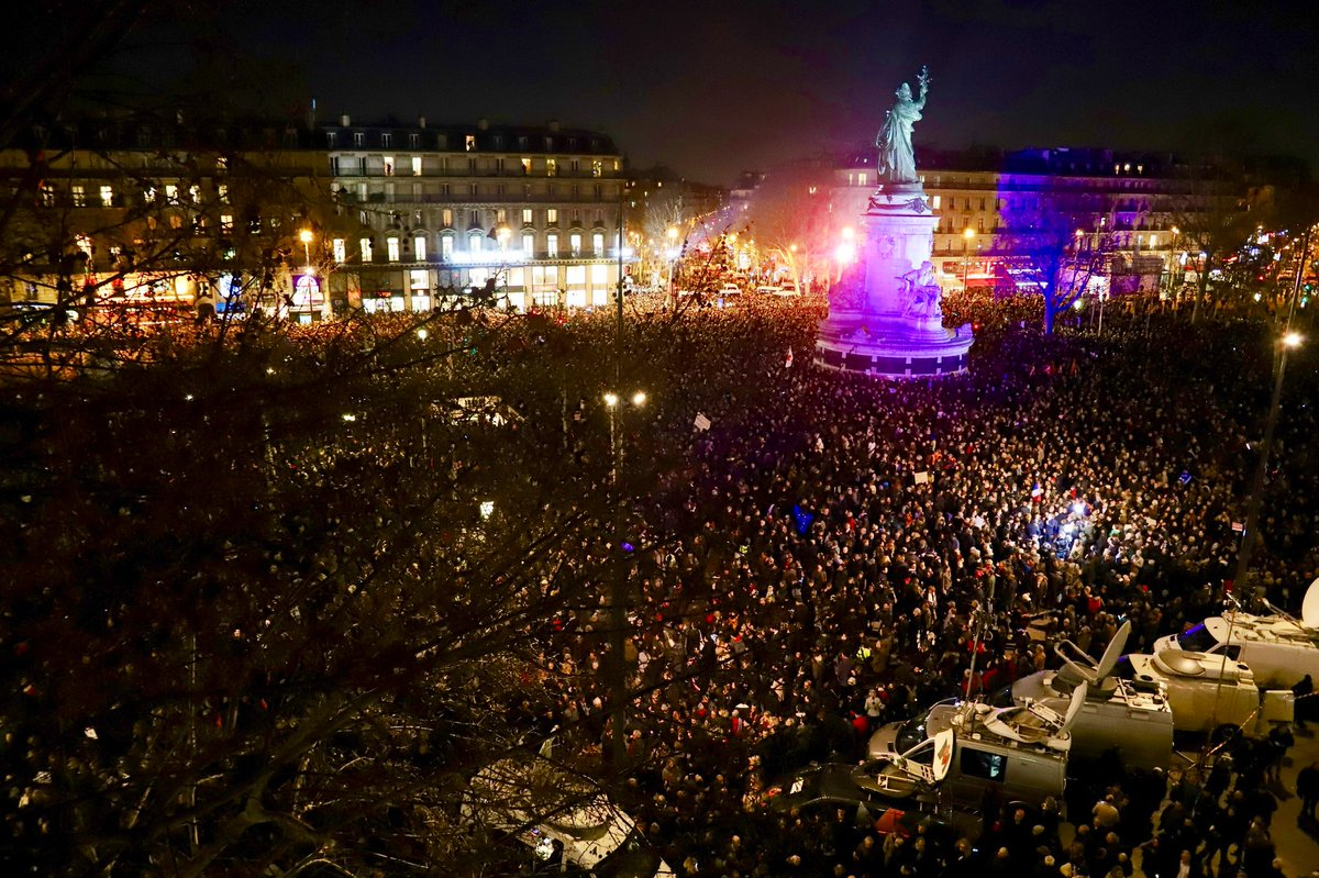 Francia se une contra el antisemitismo, tras profanación de 80 tumbas judías