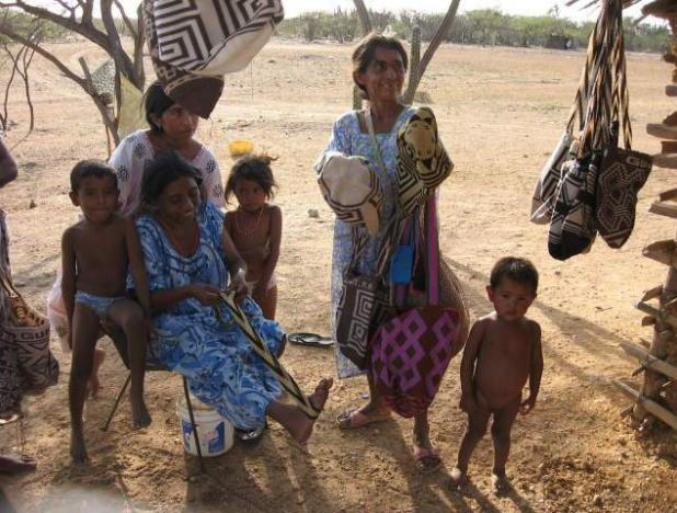 Mujeres Wayuú piden a Duque atender crisis humanitaria en la Guajira colombiana