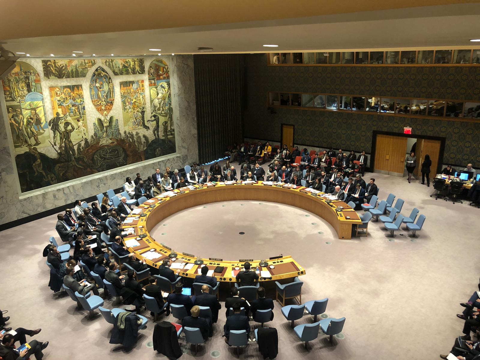 Canciller venezolano pide al Consejo de Seguridad ponerle freno a EE. UU.