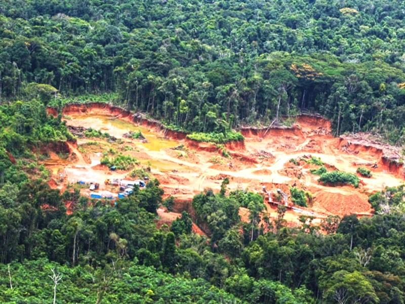 (Video) Comunidades indígenas del Cenepa amenazadas por la minería ilegal