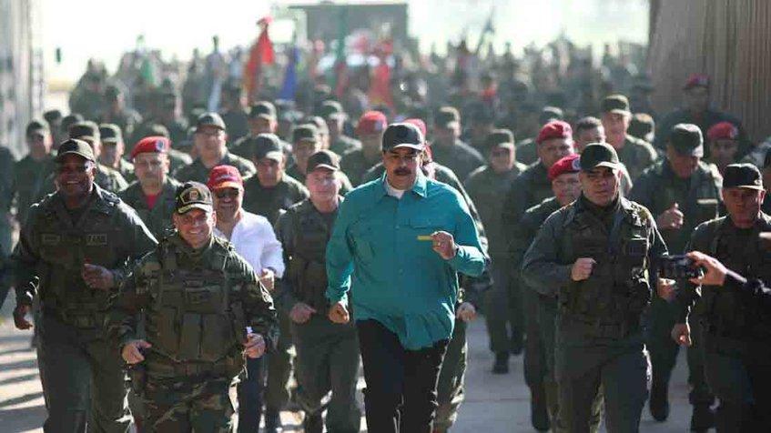 Venezuela prepara ejercicios militares para la defensa de su soberanía
