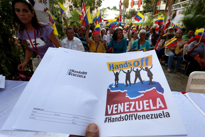 Venezuela responderá proporcionalmente a cualquier ataque de EE. UU.