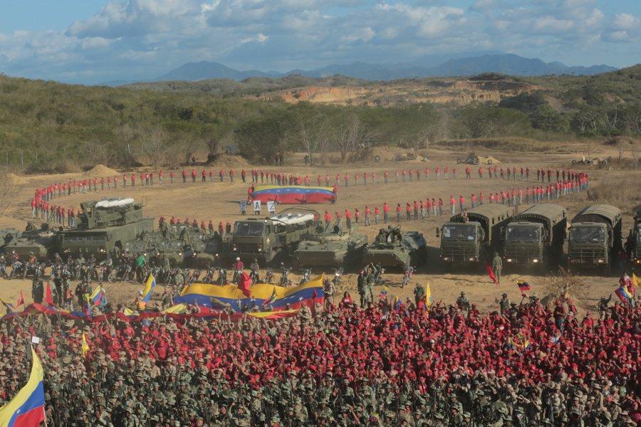 Maduro dio inicio a los ejercicios militares «más importantes» de la historia de Venezuela