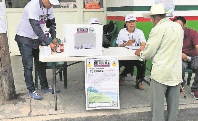 (Video) Ganó el Sí en consulta popular sobre termoeléctrica mexicana