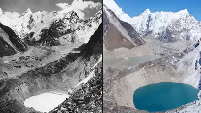 Un aumento de 2ºC en la temperatura podría derretir glaciares del Himalaya